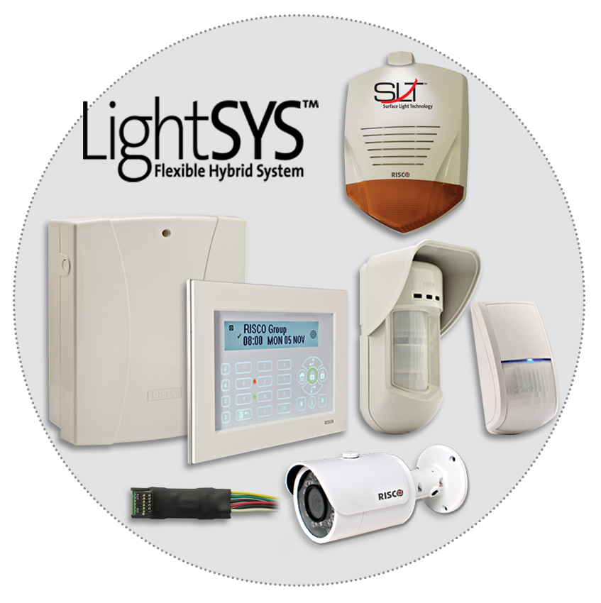 kit lightsys risco video verifica