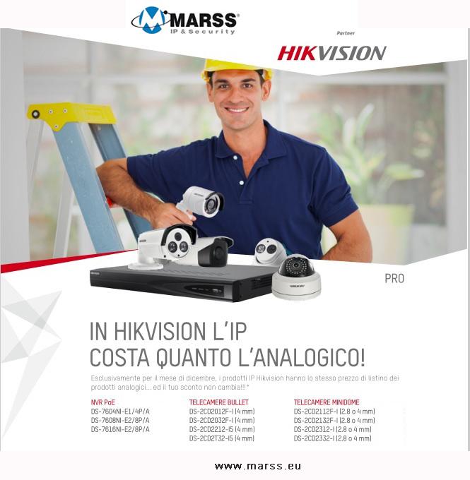 Promo hikvision dicembre 2015